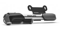 Велонасос MIZUMI GP-41A mini pump алюминиевый с манометром, с крепежем