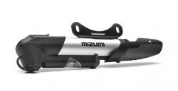 Велонасос MIZUMI GP-961A mini pump алюминиевый с манометром, с крепежем