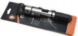 Насос ручной  алюм.25x240мм под автонипель (без шланга), с манометром, крепл. на раму(100)(блистер)