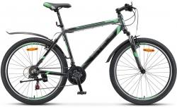 Велосипед 26 Navigator 600 V антрацитовый/зелёный 2017