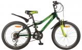Велосипед 20 Novatrack FLYER 2017 зеленый 12ск