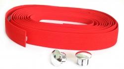 VELO,Обмотка руля VLT-004G-04 красный пробковый без гелевой ленты