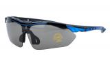 Vinca Sport, Очки спортивные c серыми линзами, VG 818 blue/black