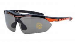 Vinca Sport, Очки спортивные c серыми линзами, VG 818 orange/black