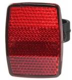 Отражатель задний (красный) пластик HL-R09