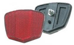 Отражатель задний (красный) пластик HL-R02