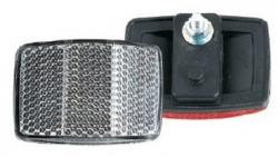 Отражатель задний (красный) пластик HL-R03А
