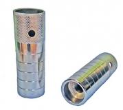Пеги HS-02 под ось 14 мм, 110 мм, стальные, серебристые