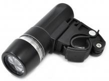 Фара передняя X-light, 3 диода, пластик, XC-981