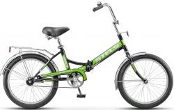 Велосипед 20 Pilot 410 черный/зеленый 2017