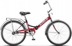 Велосипед 24 Pilot 710 черный/красный 2017