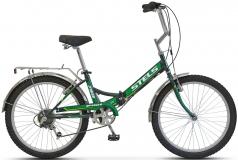 Велосипед 24 Pilot 750 черный/зеленый 2017