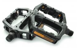 HENGFENG, Педали, PS33, 90 * 87 мм, черне, алюминиевые