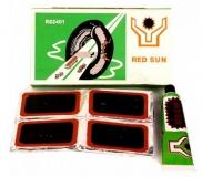 Велоаптечка RED SUN, заплатки 24 шт, 30*50 мм, клей