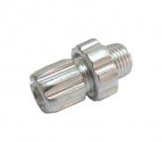 Регулятор натяжения троса для тормозной ручки, M10, алюм., HJ-H53921