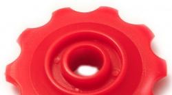 POWER, Ролик нижний для заднего переключателя, красный model A, 11T