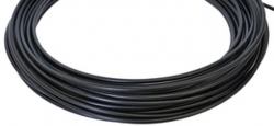 Рубашка тормозного тросика, Vinca Sport D=5 VSC 1, черная, отмотка по 10см