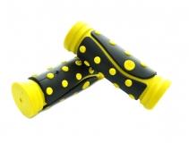 SAIGUAN, Ручки руля SR-46 95 мм, желтые