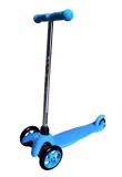 Самокат детский TRIX STEEX, трехколесный, перед 2x120 мм, зад 80 мм, max 30 кг, алюм/пласт, голубой