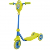 Самокат городской Foxx Baby с пластиковой платформой и EVA колесами 115мм, лимонно-синий