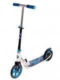 Самокат городской NOVATRACK POLIS сталь+пластик, max 90кг, колеса 230*200 мм, синий