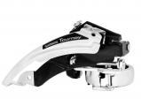 Shimano, Передний переключатель FD-TX50-6 ун.тяга, ун.хомут 66-69гр черн/хром.