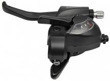 Манетка Shimano ST-EF41 3ск черный