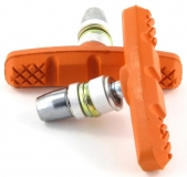 Vinca sport, Колодки V-brake, 60мм, оранжевые, VB 262 orange