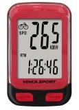 Vinca Sport, Компьютер проводной, 12 функций, красный, инд.уп. V-3500 red