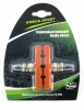 Колодки Vinca sport для V-brake 60мм, VB 262 orange, оранжевые