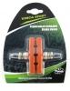 Колодки V-brake, Vinca Sport, 60мм, оранжевые, VB 262 orange