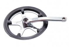 Prowheel, Система 44Т 170 мм черные, с защитой под квадрат