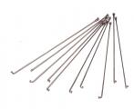 Спица с ниппелем стальная 14G L-289мм серебро