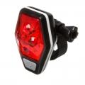 Фонарь задний STG, 4 красных диода по 0,5 ватт, с линзами, прорезиненная кнопка, TL5437