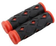 STG Грипсы ХD-113B, 95мм, черно-красные