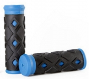 STG Грипсы ХD-113B, 95мм, черно-синие Х47234-5