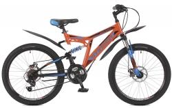 Велосипед 24 Stinger HIGHLANDER 100D 2017 оранжевый