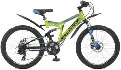 Велосипед 24 Stinger HIGHLANDER 200D 2017 черный