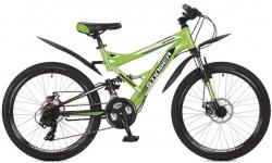 Велосипед 24 Stinger VERSUS D 2017 зеленый