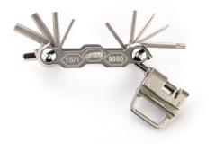 SuperB 9980, Складной набор инструмента 15 в 1