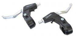 Тормозные ручки Vinca Sport, детские (пара), материал пластик/алюм, черные VB 61 black