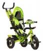Трехколесный детский велосипед TRIX HG-T50 черно-зеленый