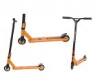 Самокат трюковый TRIX AGRESSOR, оранжевый/черный, Колеса: 2 х 100 мм, 2019
