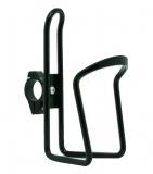 TRIX, Держатель фляги, алюминиевый с крепежем на руль, черный, H-C31
