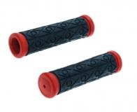 TRIX, Грипсы 2-х компонентные, 120 мм, черно-красные HL-G35B