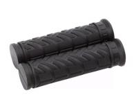 TRIX, Грипсы 2-х компонентные, 125 мм, черные HL-G49 dark