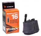 TRIX, Камера 16х1,95-2,125 автониппель AV, бутиловая