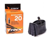 TRIX, Камера 20*1,5/1,75 автониппель AV, бутил