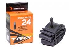 TRIX, Камера 24*1,95/2,125 автониппель AV, бутиловая