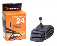 TRIX, Камера 24*1,95/2,125 автониппель AV 48 мм, бутиловая